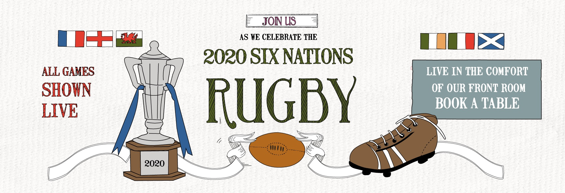 6 Nations Live at Winchmore Hill