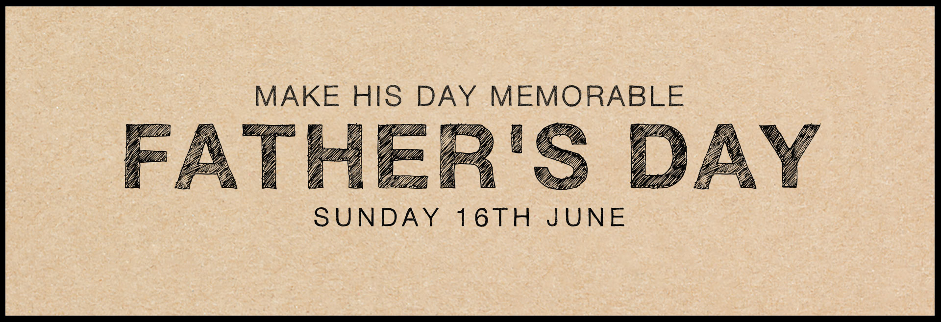 Father's Day at The Salisbury Arms