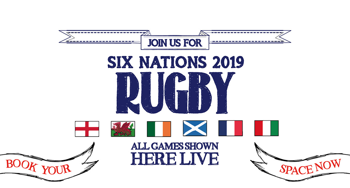 Watch the 6 Nations at The Salisbury Arms in London