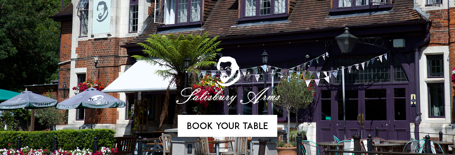 Book Your Table at The Salisbury Arms